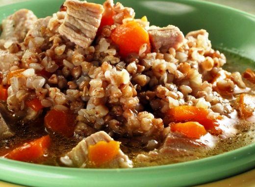 Рецепт гречка с мясом в мультиварке с фото пошагово