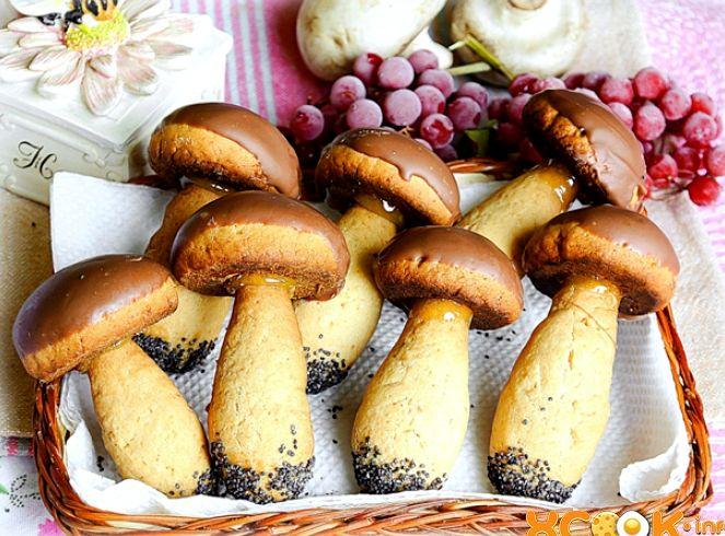 Рецепт грибочков в формочке без начинки