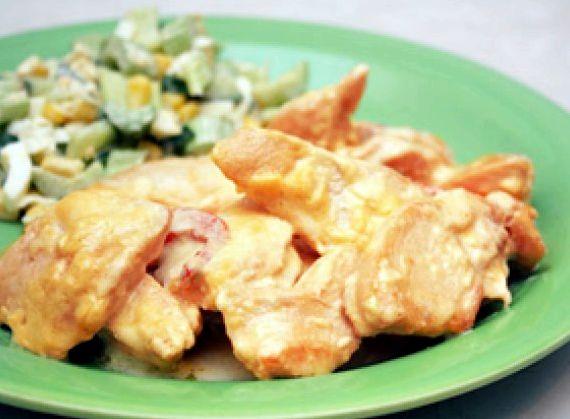 рецепт из бедра курицы пошаговый рецепт #10