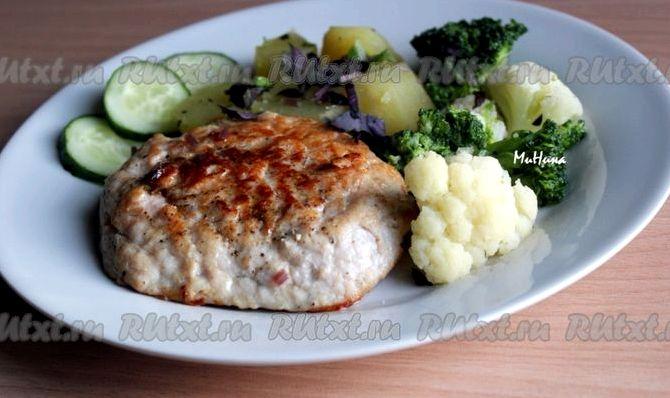 Рецепт эскалопа из свинины на сковороде