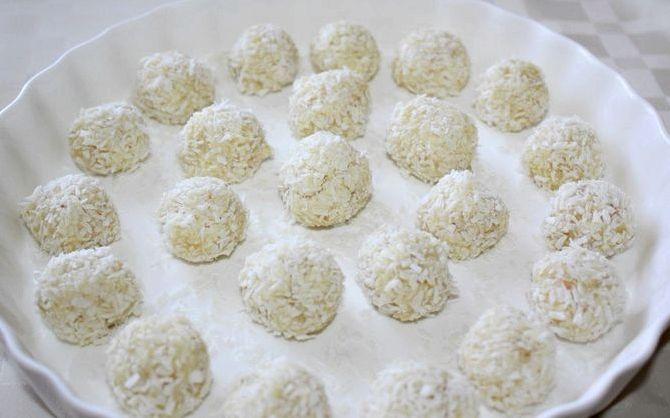 Рецепт конфет рафаэлло в домашних условиях
