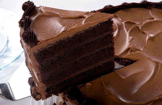 Рецепт крема для шоколадного бисквита