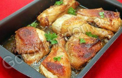 Рецепт курицы в соевом соусе в духовке