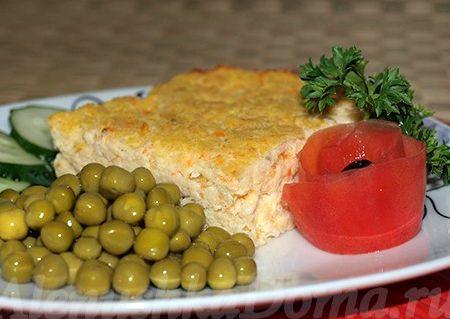 Рецепт куриного суфле как в детском саду