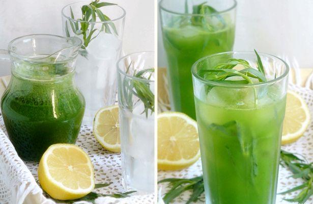 Рецепт лимонада тархун в домашних условиях