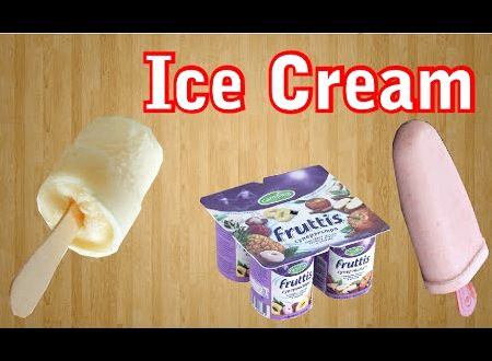Рецепт мороженого из йогурта в домашних условиях