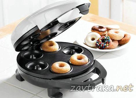 Рецепт пончиков для аппарата пончикового