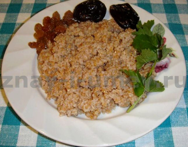 Рецепт приготовления каши пшеничной