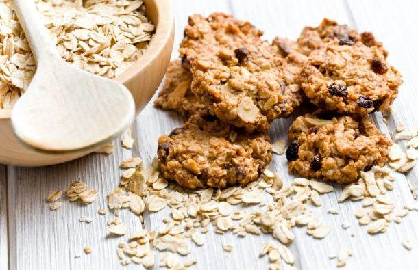 Рецепт приготовления овсяного печенья