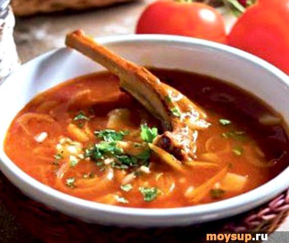 Рецепт приготовления суп харчо из баранины