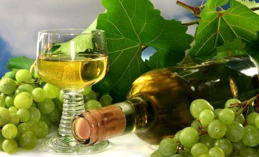 Рецепт шампанского из виноградных листьев