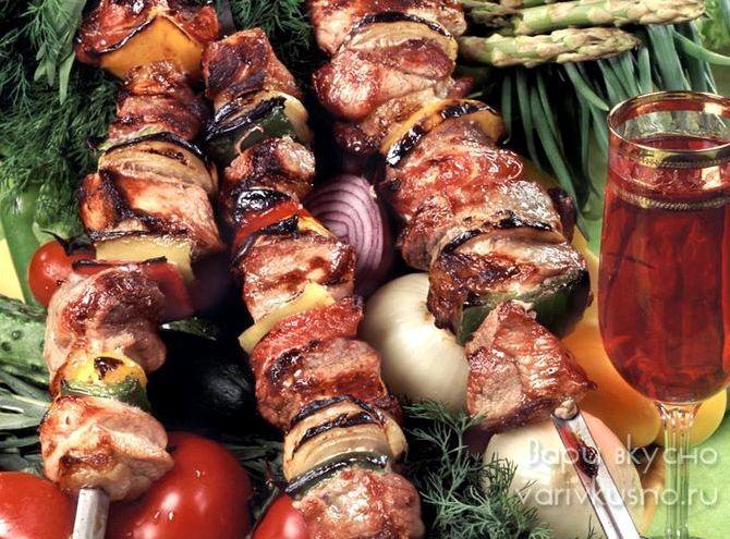Рецепт шашлыка из свинины с уксусом 70 процентов