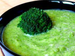 Рецепт суп пюре из брокколи диетический