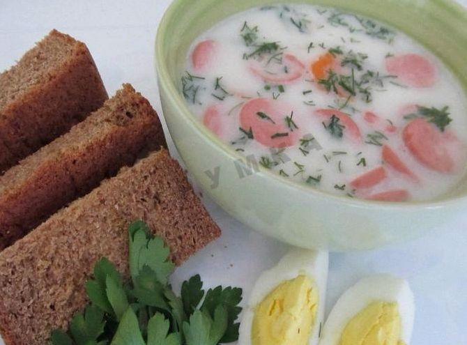Сырный суп рецепт с колбасой и плавленным сыром рецепт