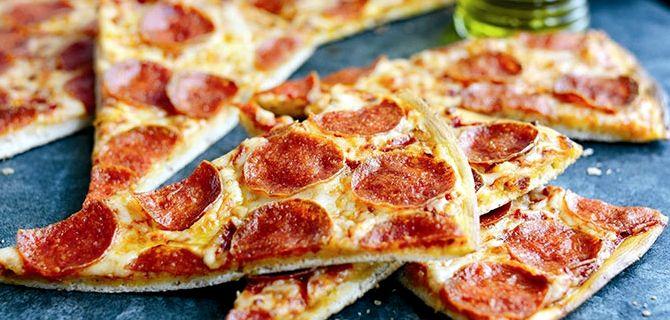 Пицца рецепт теста без дрожжей на молоке рецепт пошаговый