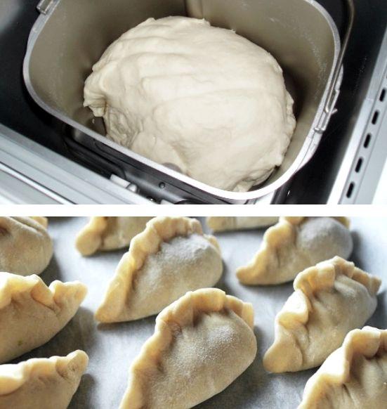 Как сделать тесто для вареников в хлебопечке