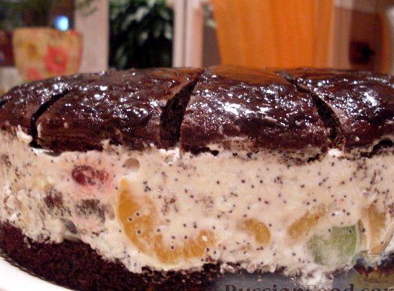 Рецепт торта африканская ромашка с фото