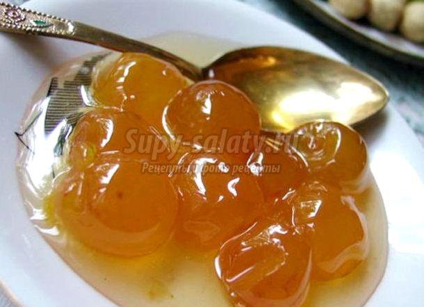 Рецепт варенье из крыжовника с апельсинами
