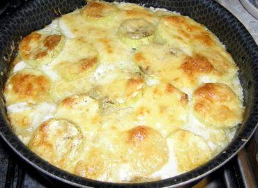 Рецепт запеканки из картофеля и кабачков