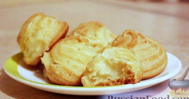 Рецепт заварного крема с фото для эклеров
