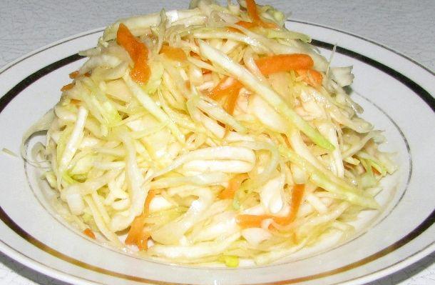 Приготовление салата из капусты рецепты