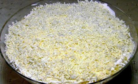 Салат мимоза рецепт с фото со сливочным маслом