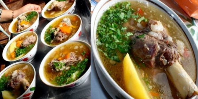 Шурпа из баранины рецепт с фото узбекская