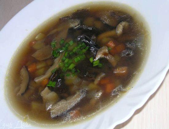 Рецепт салата с грибами и черносливом