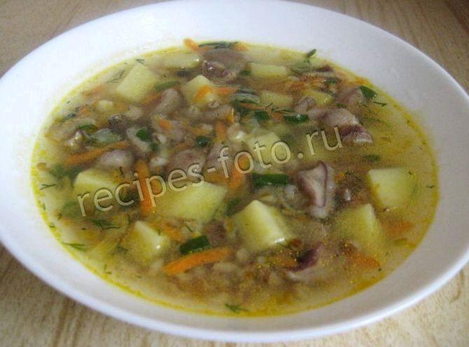 Вкусный суп с перловкой рецепт