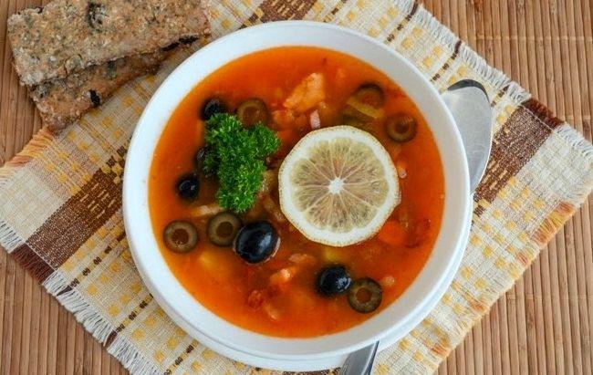 Суп солянка рецепт приготовления в домашних условиях с фото пошагово