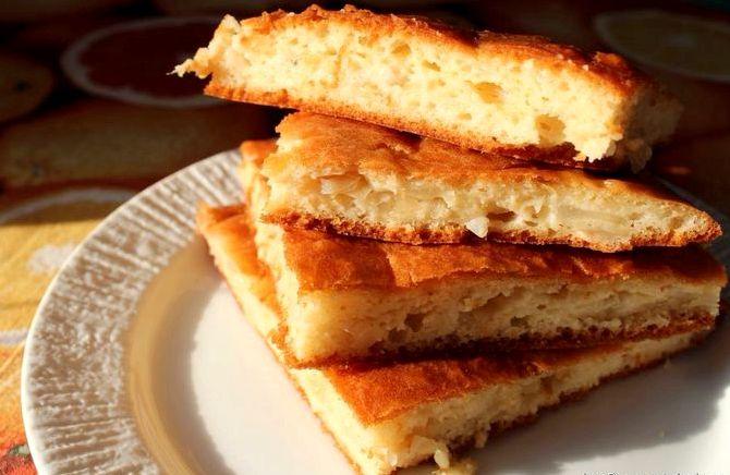 Тесто без дрожжей для пирогов рецепт