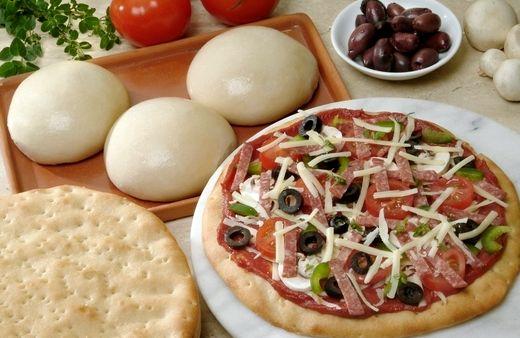 Тесто для пиццы классический итальянский рецепт без дрожжей