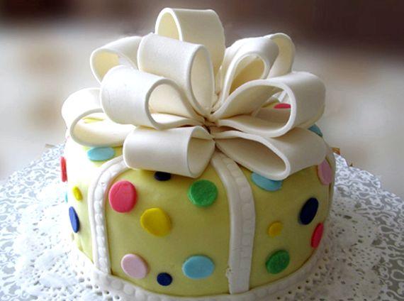 Первый торт из мастики своими руками