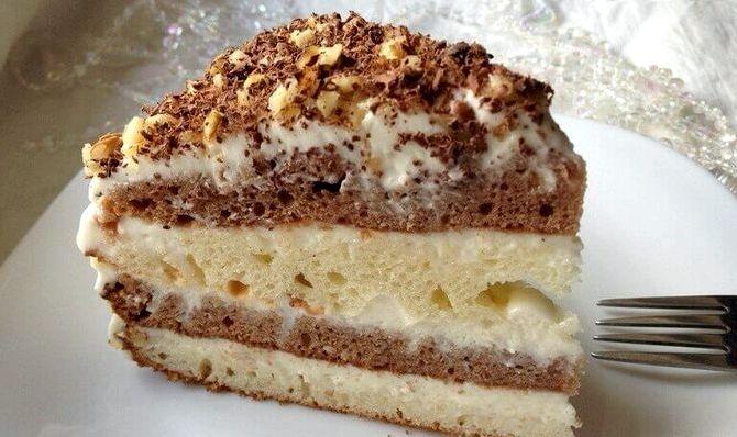 Рецепт торта сметанник на кефире