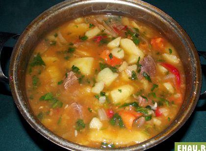 картошка с говядиной тушеная в кастрюле рецепт