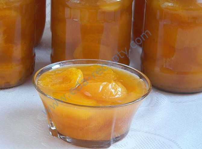 Варенье из абрикосов дольками рецепт без воды