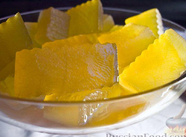 Варенье из арбузных корок рецепт с фото