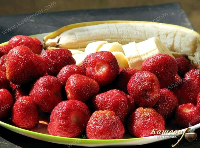Варенье из клубники и бананов рецепт с фото