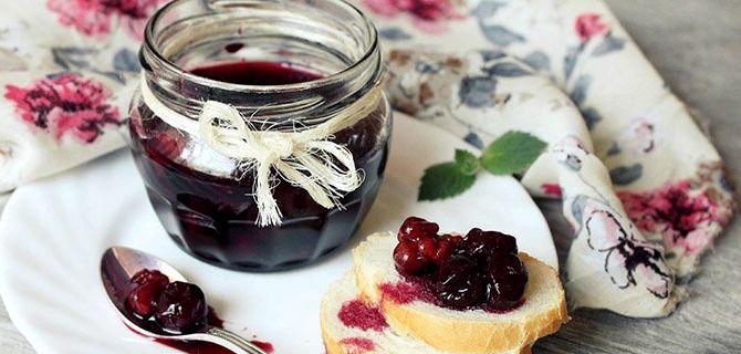 Варенье из вишни с косточками в домашних условиях простой рецепт