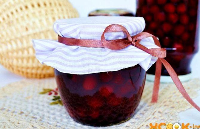 Варенье из войлочной вишни без косточек рецепт