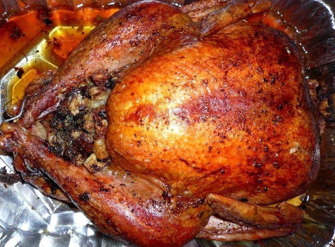 Курица в духовке целиком рецепт с фото пошагово