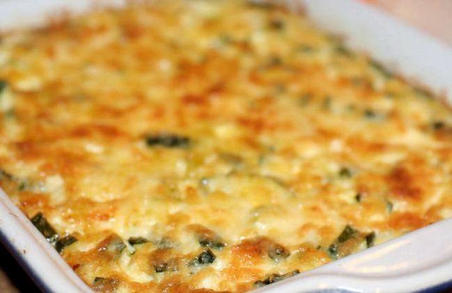 Запеченные кабачки с сыром в духовке рецепт с фото