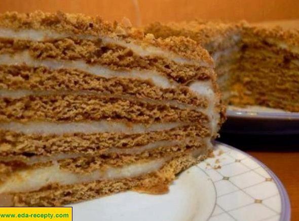 Торт медовик с масляным кремом рецепт пошагово 147