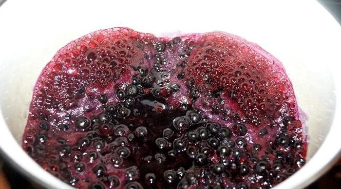 Варенье из малины и черники пятиминутка рецепт