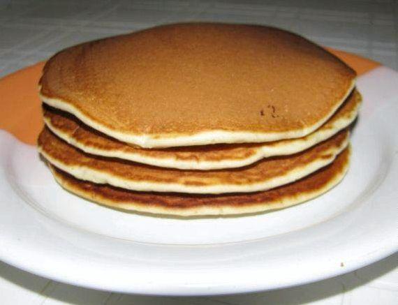 Американские блинчики панкейки рецепт с фото на молоке