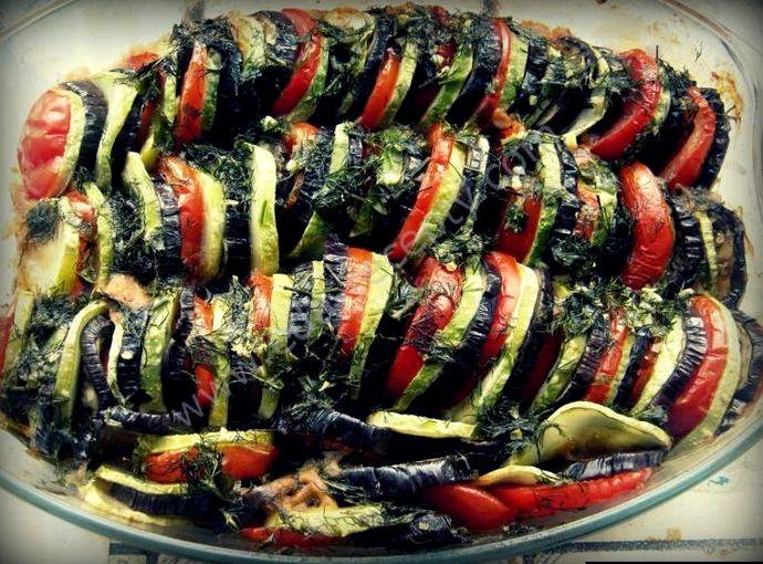 Баклажаны и кабачки рецепт в духовке