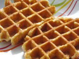 Бельгийские вафли рецепт для электровафельницы хрустящие