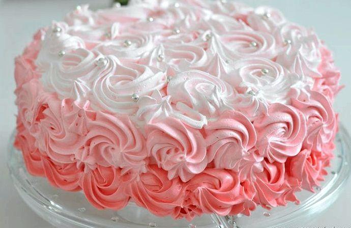 техника украшения торта кремом пошагово с фото швов разноцветных