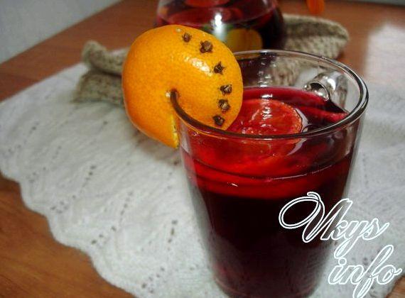 Безалкогольный глинтвейн в домашних условиях рецепт
