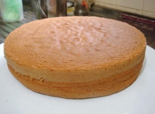 Бисквит рецепт простой с фото в домашних условиях